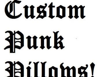 Custom Pillow Order Form