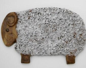 Sheep wall motif.