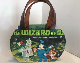 The Wizard of Oz vinyl record purse