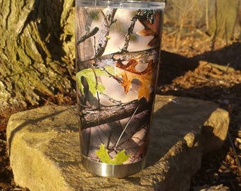 20 oz Steel Double Wall Tumbler- Hydrodipped