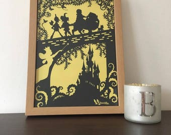 The Wizard of Oz Paper Cut Paper Cutting Art