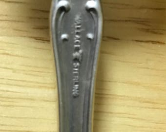 Wallace Sterling Serving Fork 8.5 Inch