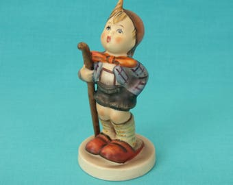 The Little Hiker M. J. Hummel Goebel figurine no.16 made 1972 - 1979 West Germany