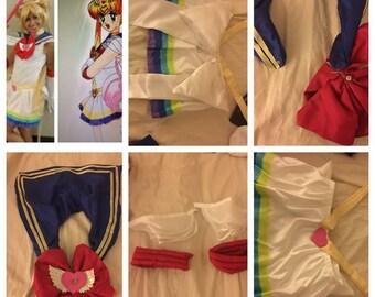 Sailor moon bows and skirts