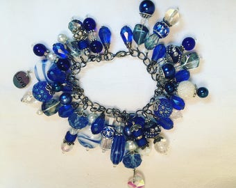 Custom Made Blue Bracelet