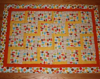 Themed Rail Fence Quilt