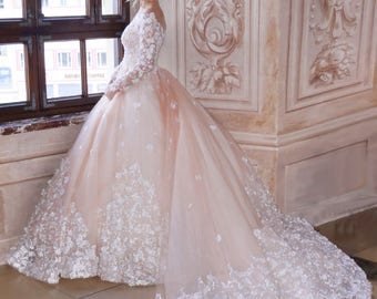 Princess wedding dress / princess dress