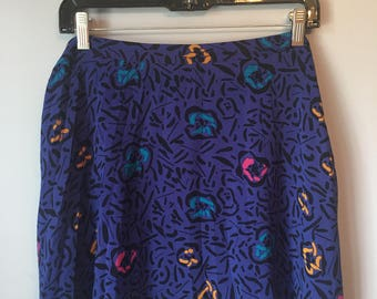 Vintage Women's 80s 90s Mini Skirt