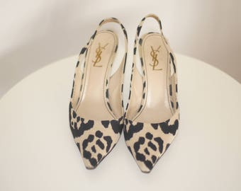 "YSL animal print Pumps ""Blogger Style"""
