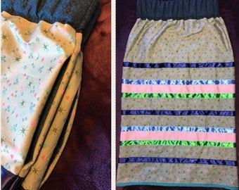 Ojibwe ribbon skirts