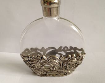 Beautiful ornate perfume bottle.