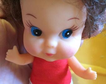 Liddle-Kiddle Clone/Vintage Miniature Big Headed Doll