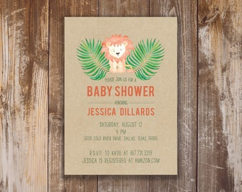 Printable Baby Shower Invitation - William Collection