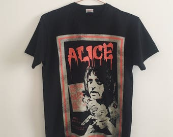 Vintage Alice Cooper Band T-Shirt S