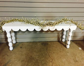Entry Way Display Wooden Bench