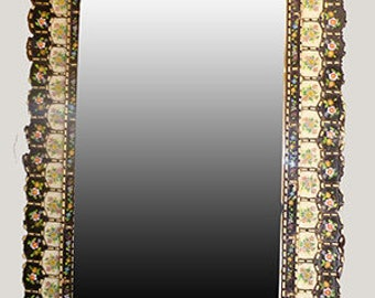 Andes blossom Glass Mirror