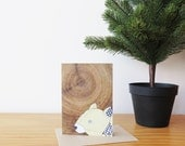 Wombat A6 Blank Greeting Card