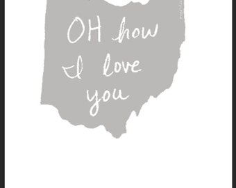 OH how I love you poster