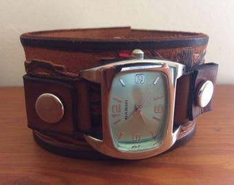 Wilderness watch cuff