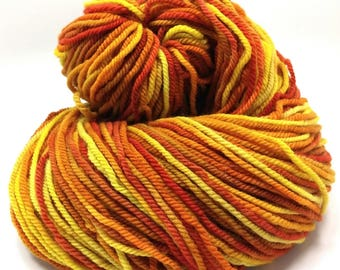SALE- APOLLO 310 yds/4.5 oz targhee worsted wt 3 ply yarn- destash, ooak, cowl, scarf, gift, knit, crochet, weave, felt