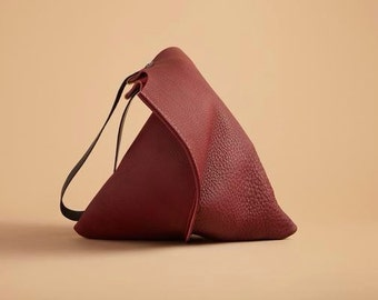 13in Wedge - Port leather