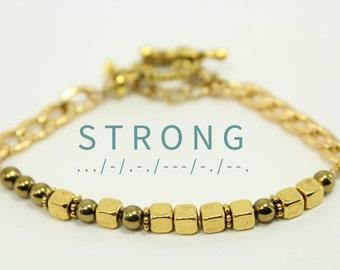 Strong Bracelet  Etsy. Planet Gemstone. Diamond Bracelet Bangles. Side Stone Rings. Gold Leaf Pendant. Best Man Watches. Coral Pendant. Child Security Bracelet. Broken Wedding Rings