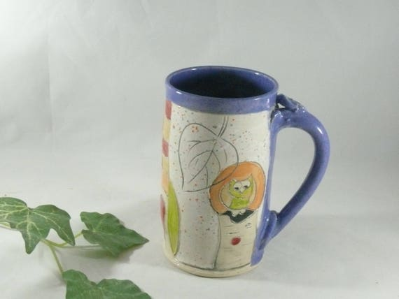 Big Ceramic Mug, Pottery Mug, Teacup, pottery and ceramics, Beer Stein, Tankard, Clay Cup,  Unique Coffee Mugs, Large Size Mug 765