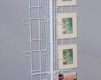 32 Pockets Literature Floor Display Rack Stand Magazine Book Prints 8X10 USA MADE USA