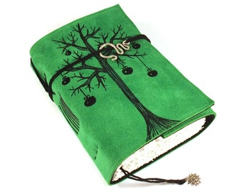 Journal, Leather, Diary, Notebook, Apple Tree