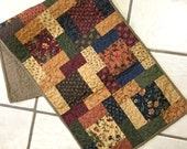 Table Runner Rustic Country Primitive Home Decor Patchwork Quilted  Handmade