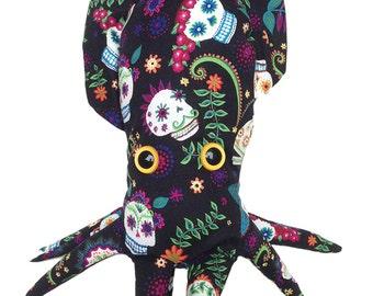 Dia de los Muertos (Day of the Dead) Cuttlefish