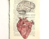 RESERVED FOR L + K//Blackout Poetry (ponder) Original Artwork & Poem