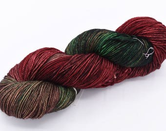 Closer Than You Think Variegated Bounce Hand Dyed Sock Yarn - In Stock