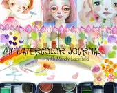 REGULAR REGISTRATION: My Watercolor Journal - online class