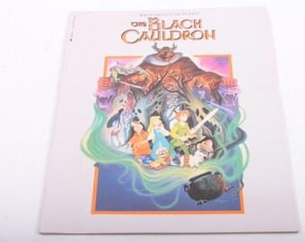 The Black Cauldron, Disney, Vintage, Graphic, Children's Book, Movie