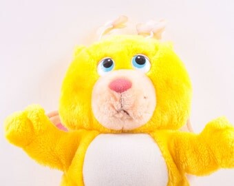 Vintage, Hasbro, Softie, Butterbear, Wuzzles, Butterfly Bear, Stuffed Animal, Disney  ~ The Pink Room ~ 161228
