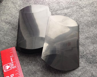 Pillow Boxes for Jewelry / Black Plastic / Qty 15