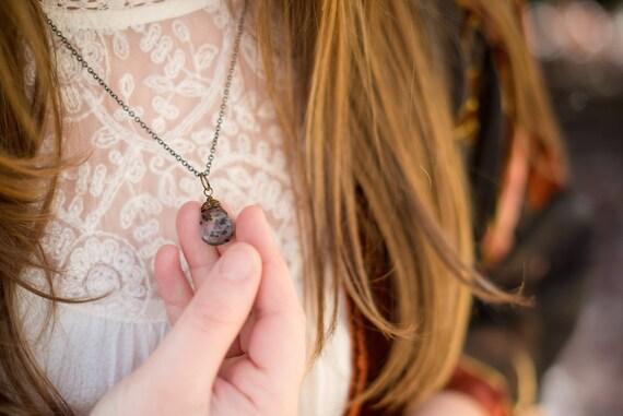 i rise {tourmalinated quartz intention necklace}