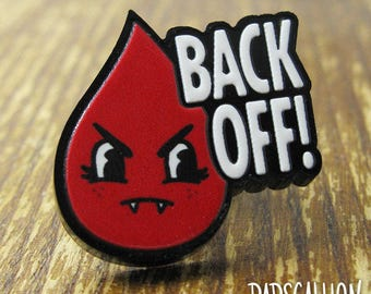 Period Blood Drop Acrylic Lapel Pin