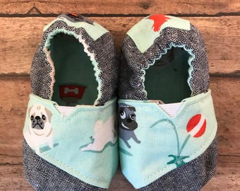 Toms Inspired Baby Shoes : 6 - 9 months