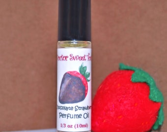 Chocolate Strawberry Perfume Oil Roll-On