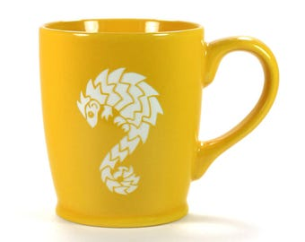Pangolin Mug -  exotic anteater coffee cup - Choose Your Color