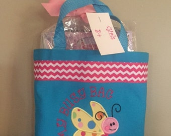 Busy Bag for Girls Butterfly