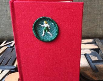 Girl Scout Badge Journal Foot Traveler Badge -  Lined