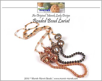 eTUTORIAL Beaded Bead Lariat