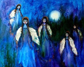 Angels in Moonlight  -   print - 8 x 10 photo prints buy 2 get 1 free