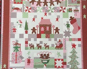 Sugar Plum Christmas Kit - The Christmas Mouse - By Bunny Hill Designs - For Moda - 150.00 Dollars