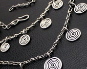 Thea Necklace in Sterling Silver