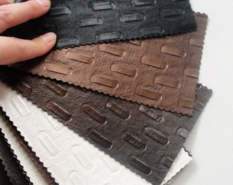 26 pieces of Fake Leather Catalog Textured, Embossed
