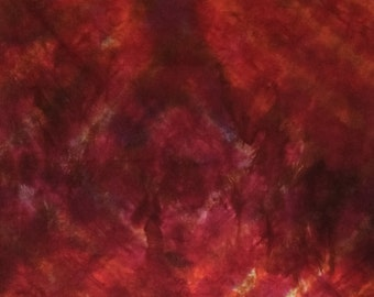 Hand Dyed Fabric - Agate - 1 -Modern Shibori cotton - 248